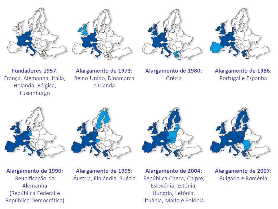 Alargamento de 1973: Reino Unido, Dinamarca e Irlanda