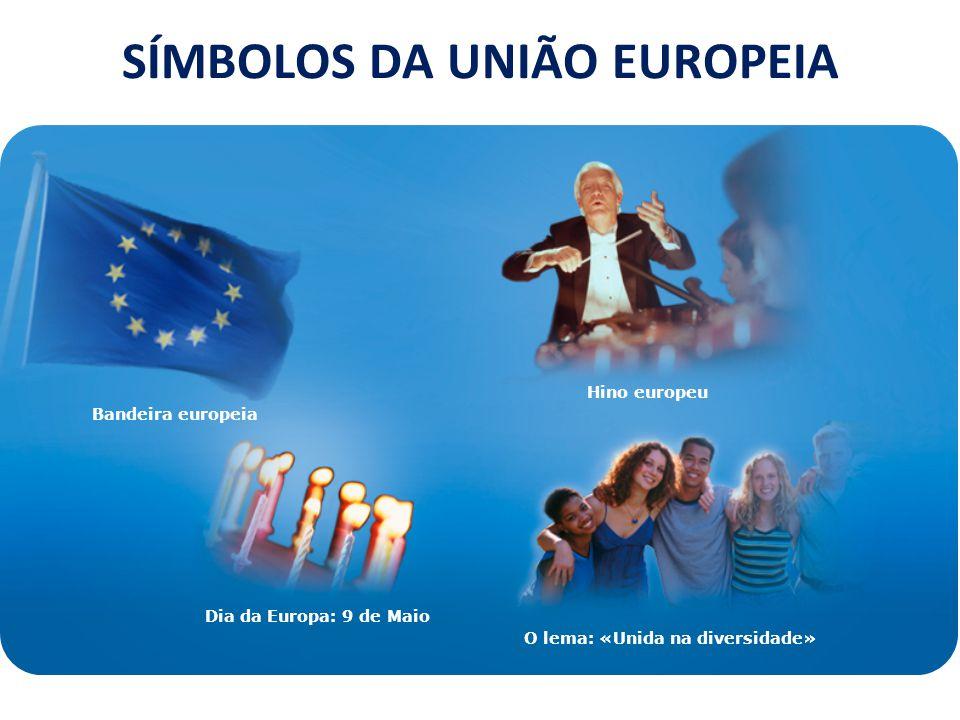SÍMBOLOS DA UNIÃO EUROPEIA