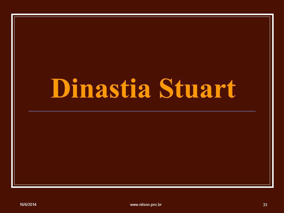 Dinastia Stuart 02/04/2017 www.nilson.pro.br