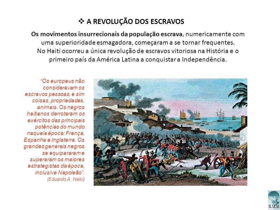 A REVOLUÇÃO DOS ESCRAVOS