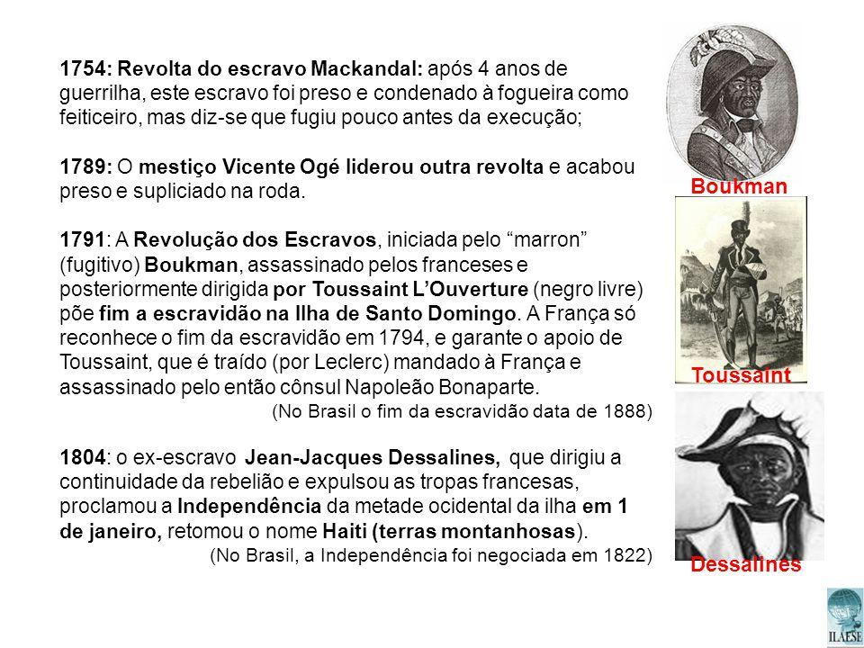 Boukman Toussaint Dessalines