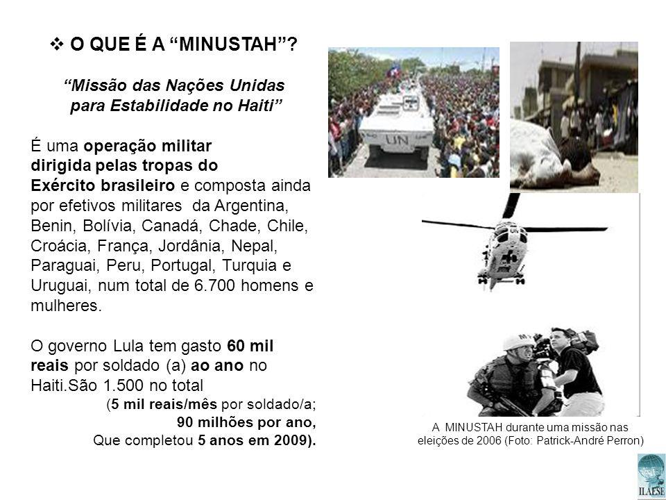 Missão das Nações Unidas para Estabilidade no Haiti