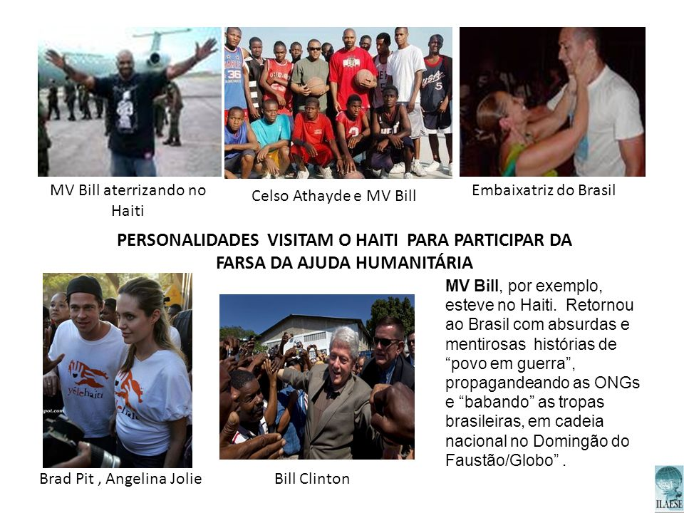 PERSONALIDADES VISITAM O HAITI PARA PARTICIPAR DA