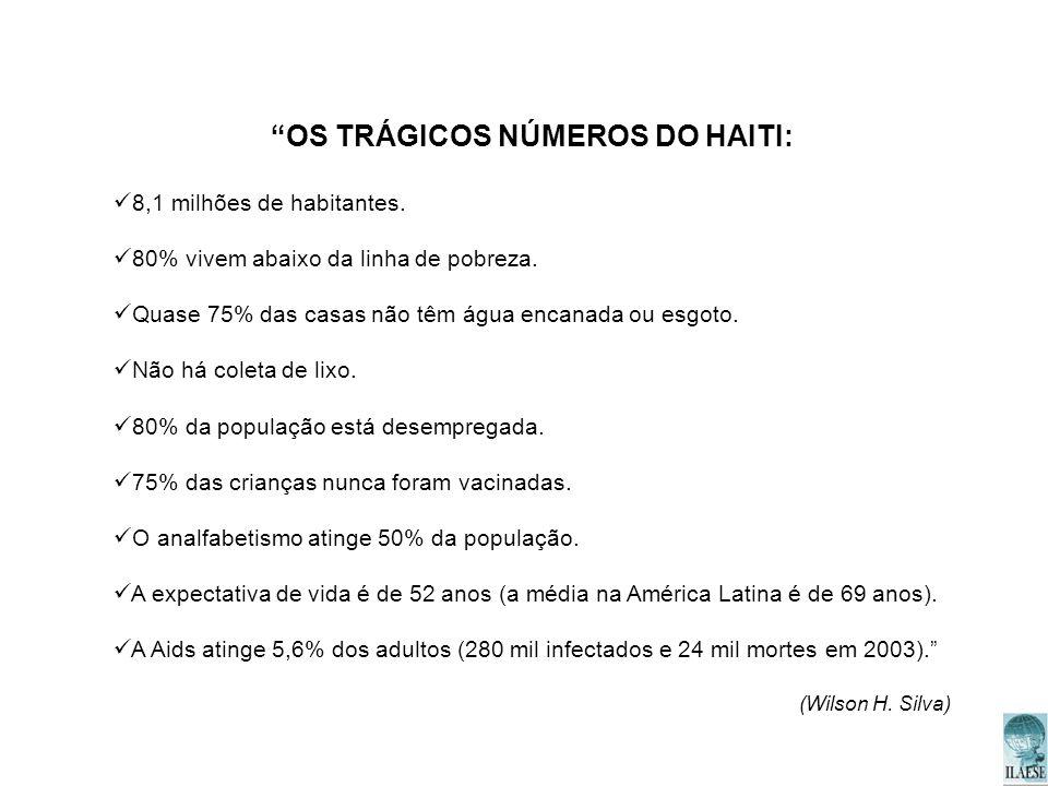 OS TRÁGICOS NÚMEROS DO HAITI:
