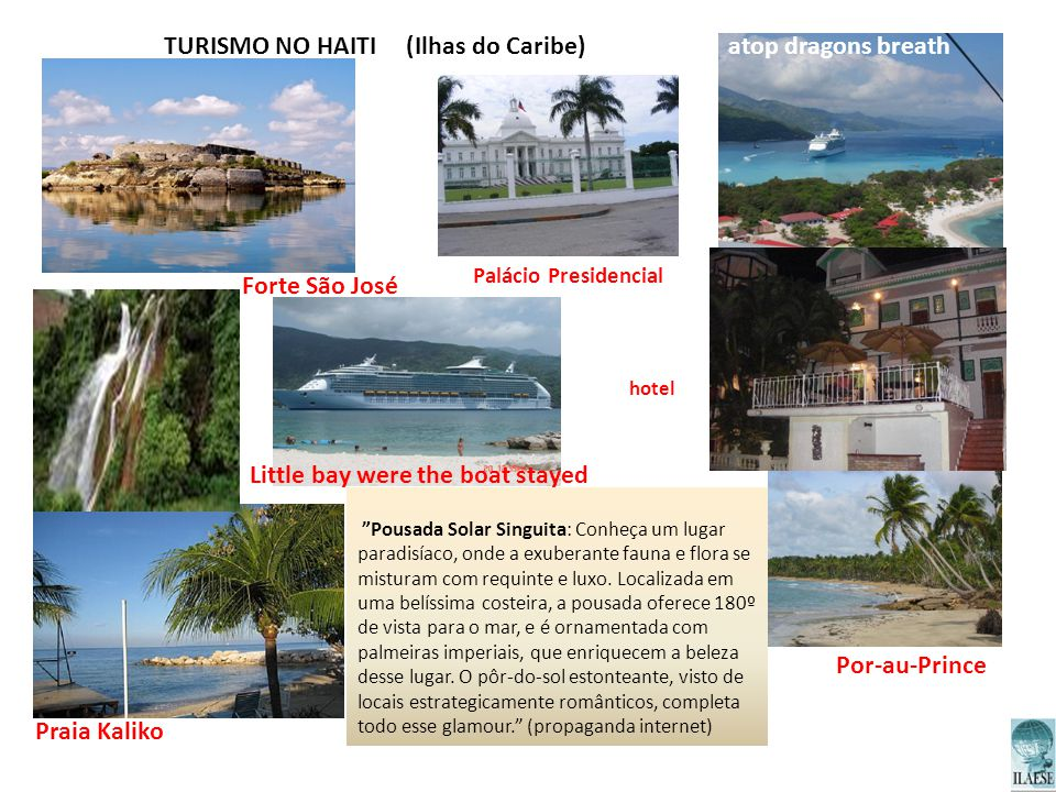 TURISMO NO HAITI (Ilhas do Caribe)