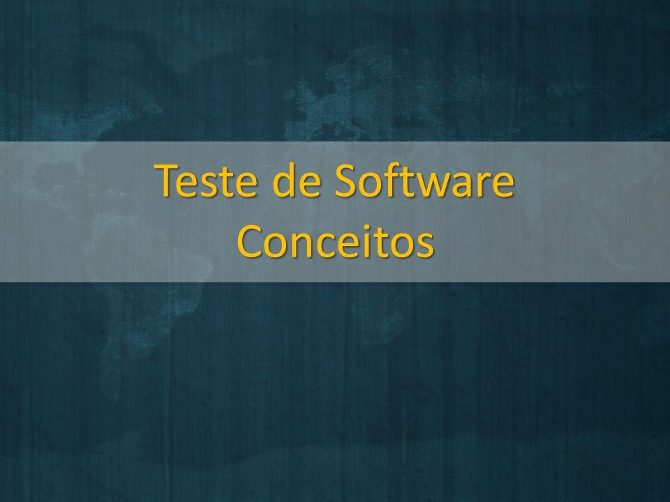 Teste de Software Conceitos