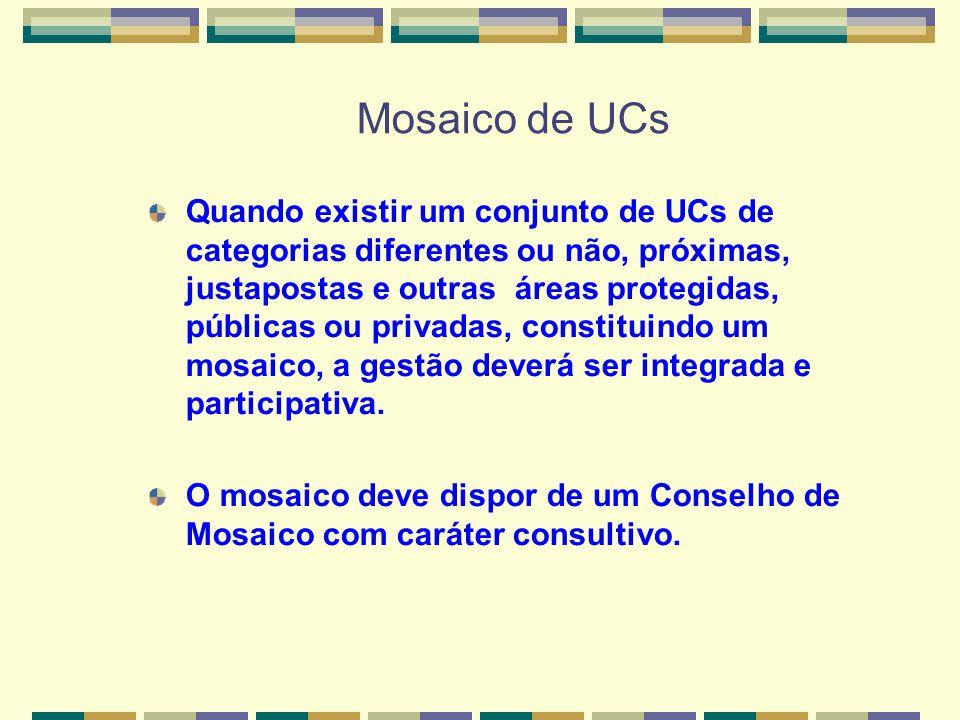 Mosaico de UCs