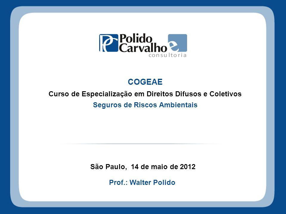 COGEAE Curso de Especialização em Direitos Difusos e Coletivos