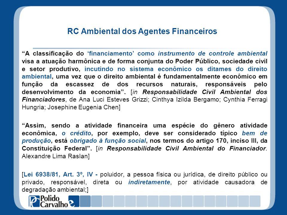 RC Ambiental dos Agentes Financeiros