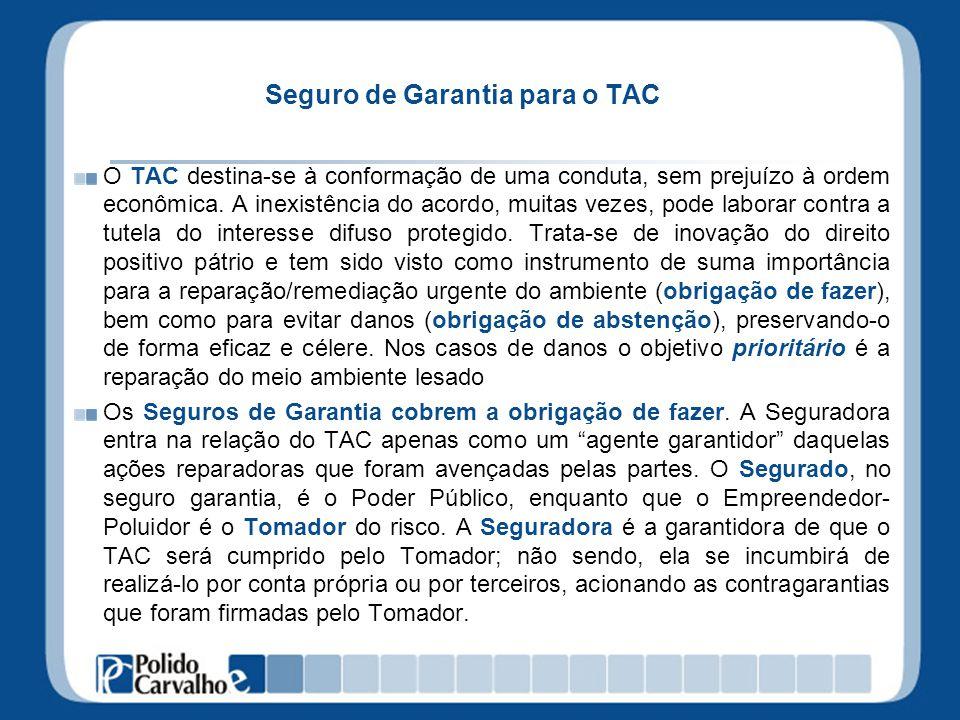 Seguro de Garantia para o TAC