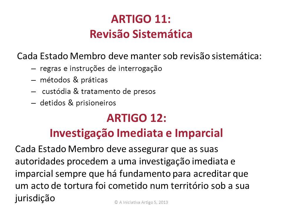 ARTIGO 11: Revisão Sistemática