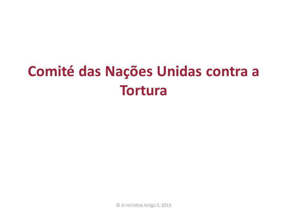 Comité das Nações Unidas contra a Tortura