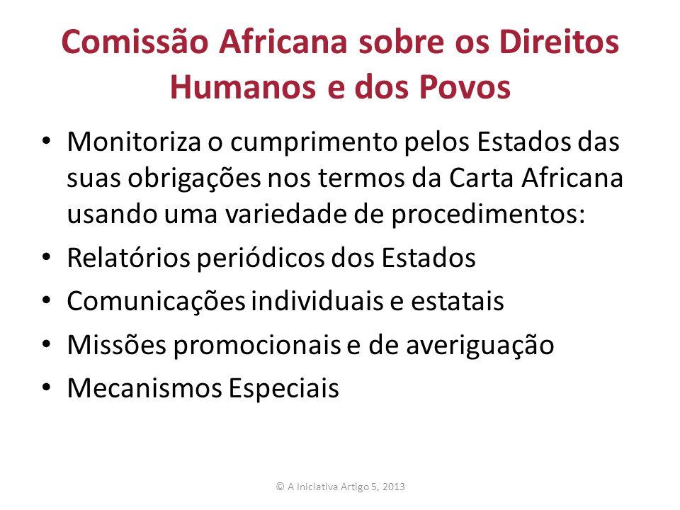 Comissão Africana sobre os Direitos Humanos e dos Povos