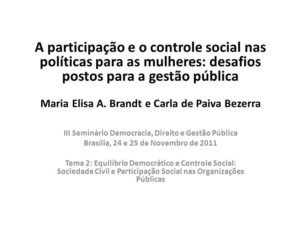 Brasília, 24 e 25 de Novembro de 2011