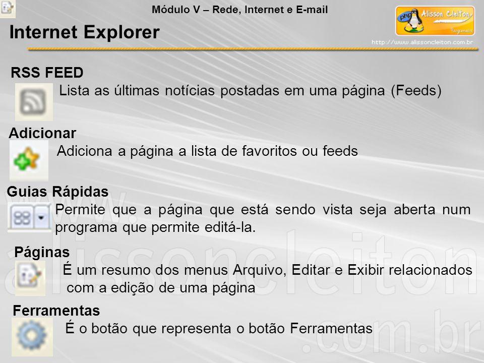Internet Explorer RSS FEED