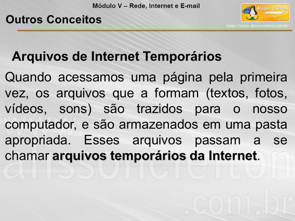 Arquivos de Internet Temporários