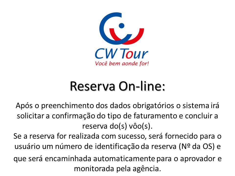 Reserva On-line: