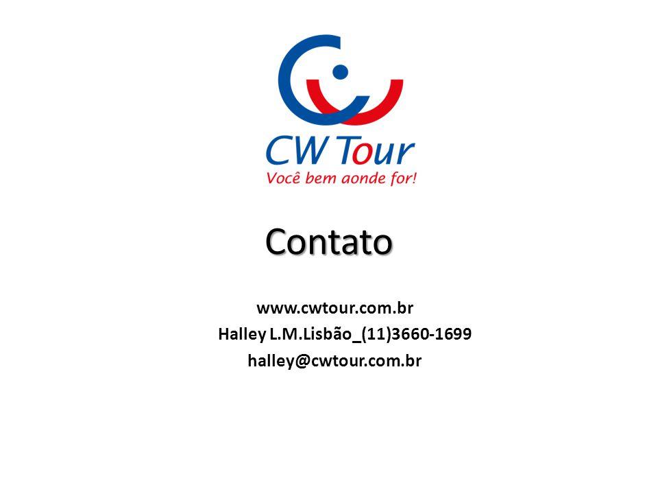 www.cwtour.com.br Halley L.M.Lisbão_(11)3660-1699 halley@cwtour.com.br