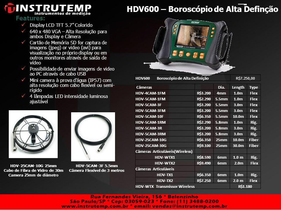 HDV600 – Boroscópio de Alta Definção
