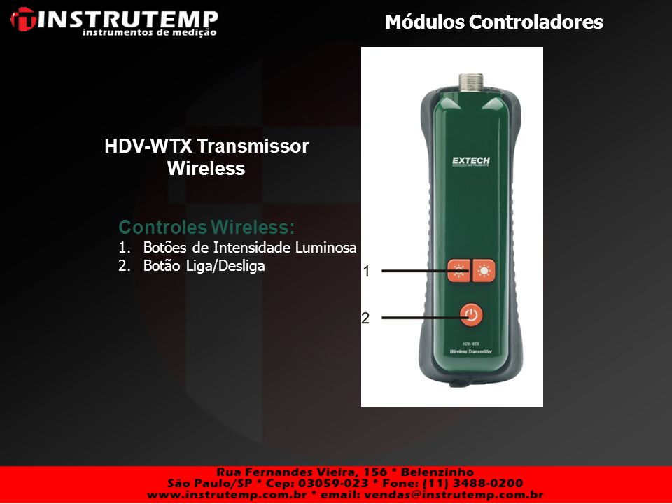HDV-WTX Transmissor Wireless