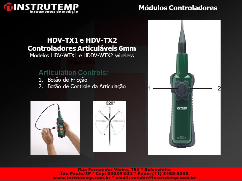 Controladores Articuláveis 6mm