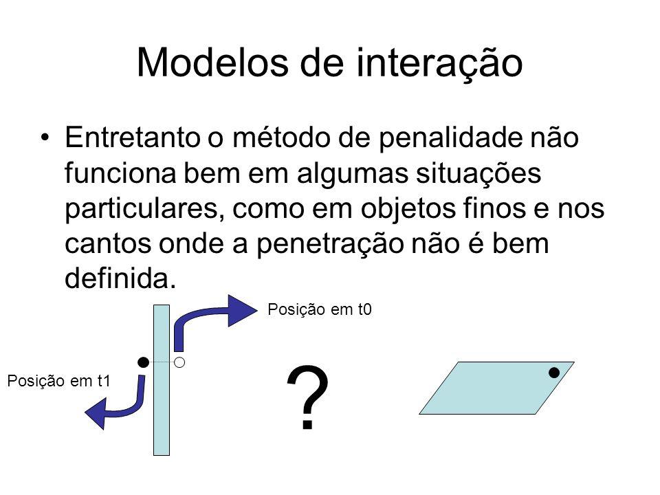 Modelos de interação