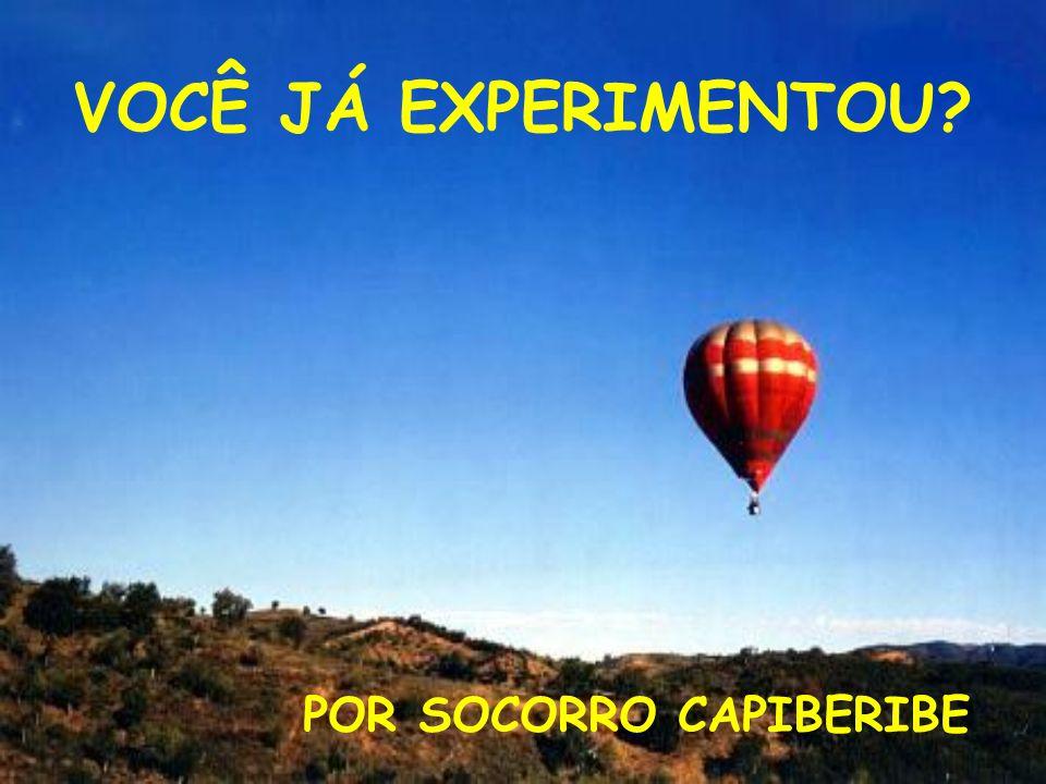 VOCÊ JÁ EXPERIMENTOU POR SOCORRO CAPIBERIBE
