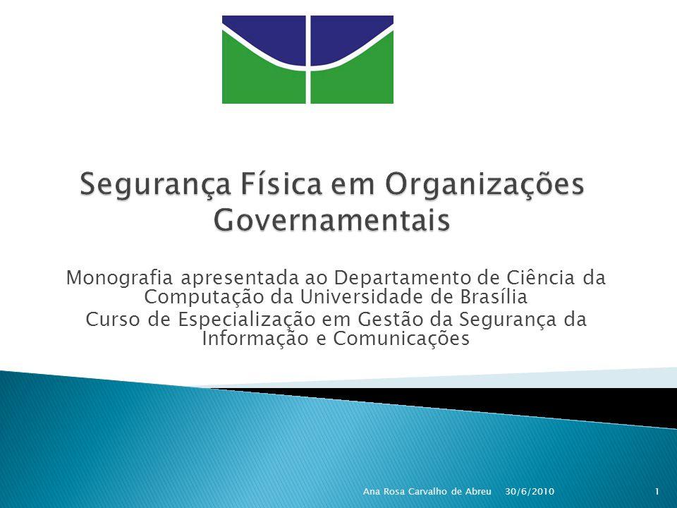 Segurança Física em Organizações Governamentais