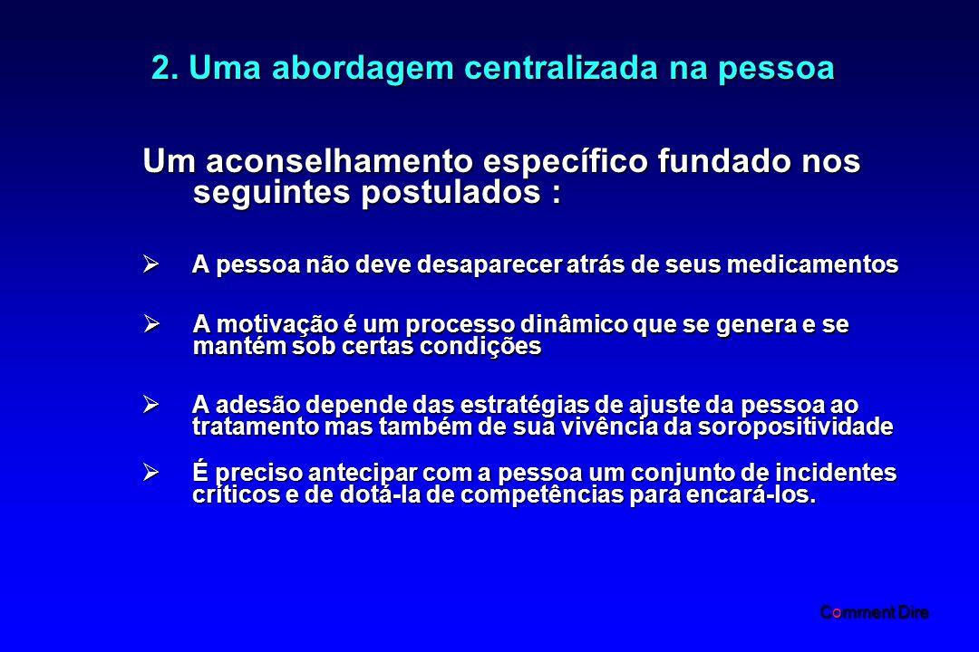 2. Uma abordagem centralizada na pessoa