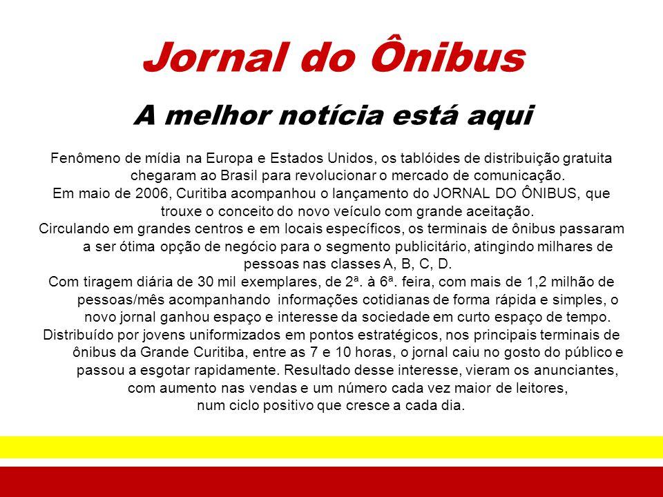 Jornal do Ônibus A melhor notícia está aqui