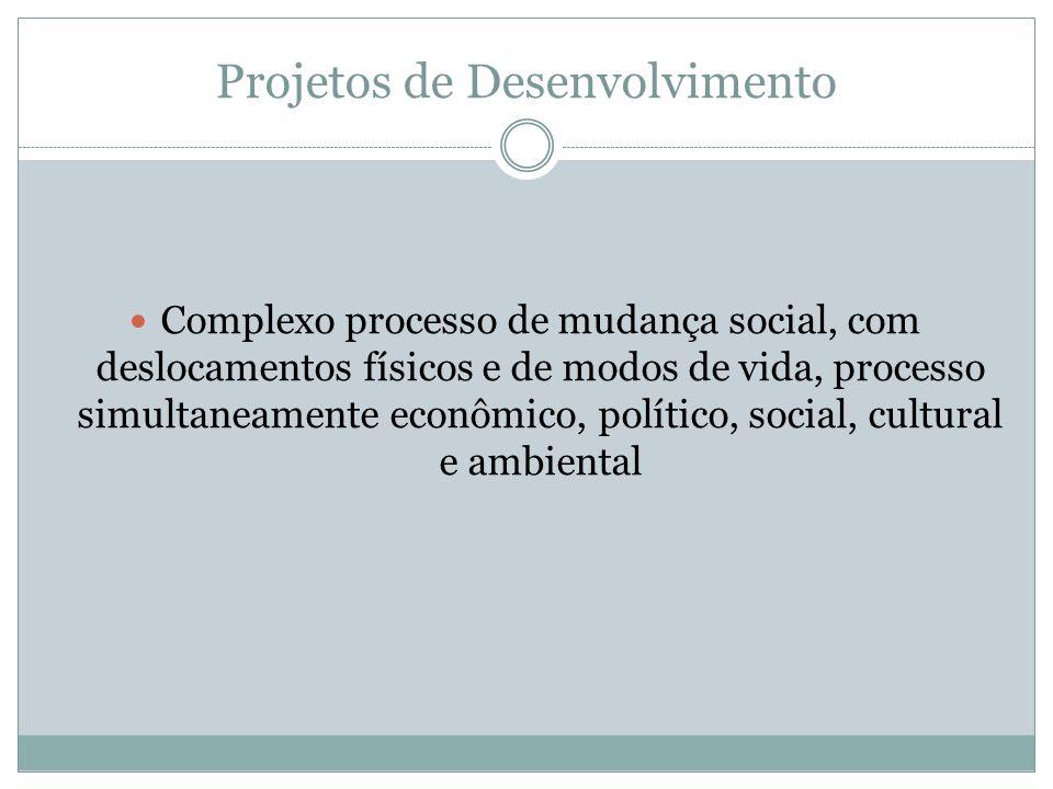 Projetos de Desenvolvimento