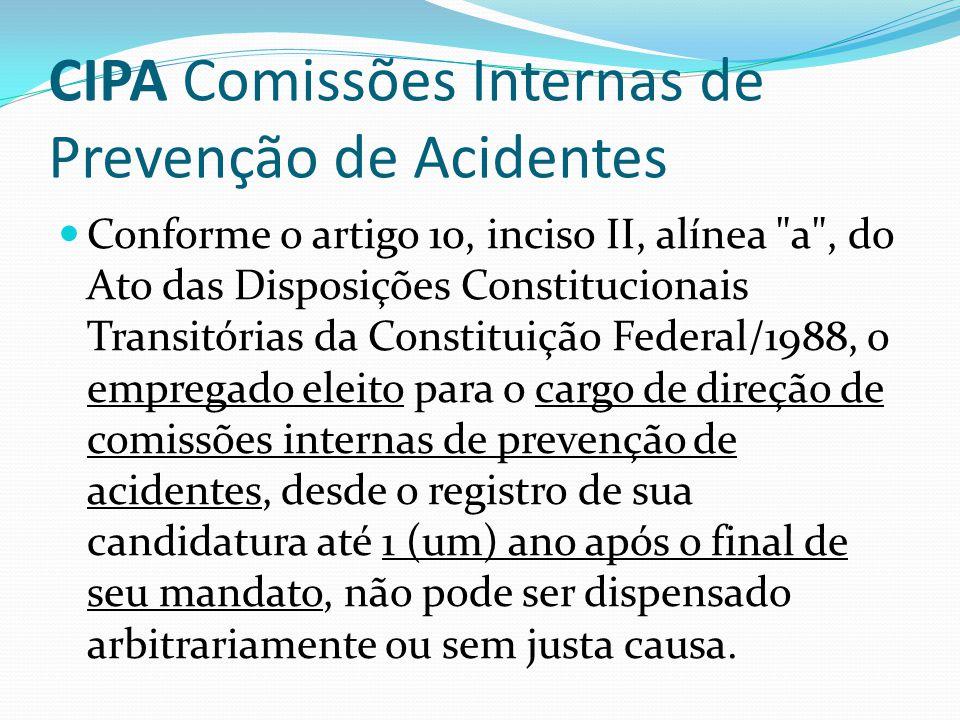 CIPA Comissões Internas de Prevenção de Acidentes