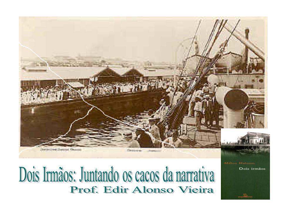 Dois Irmãos: Juntando os cacos da narrativa Prof. Edir Alonso Vieira