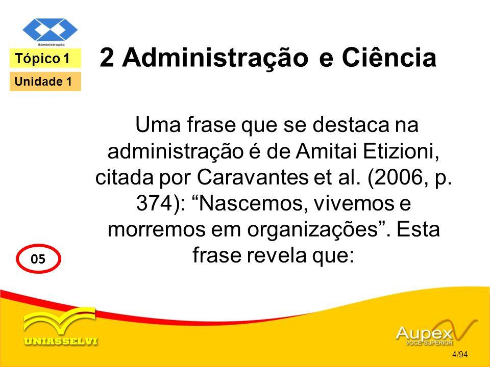 2 Administração e Ciência