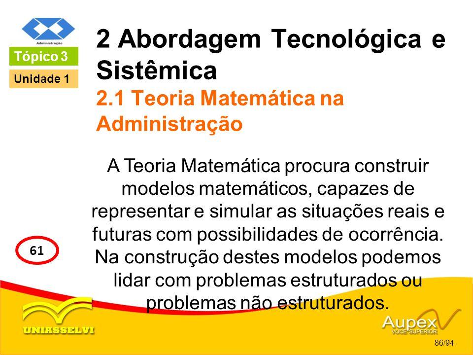 2 Abordagem Tecnológica e Sistêmica 2