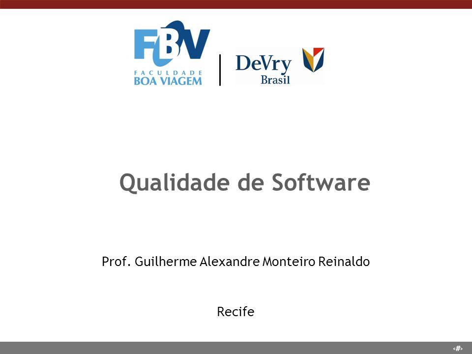 Prof. Guilherme Alexandre Monteiro Reinaldo Recife