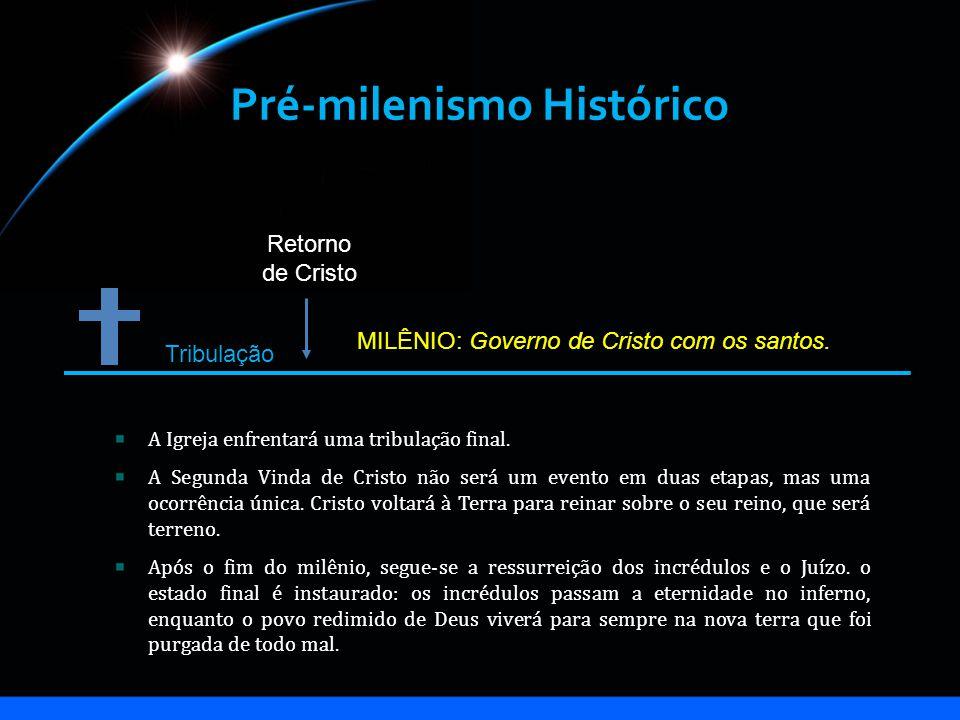 Pré-milenismo Histórico