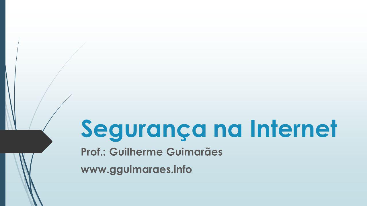 Prof.: Guilherme Guimarães www.gguimaraes.info