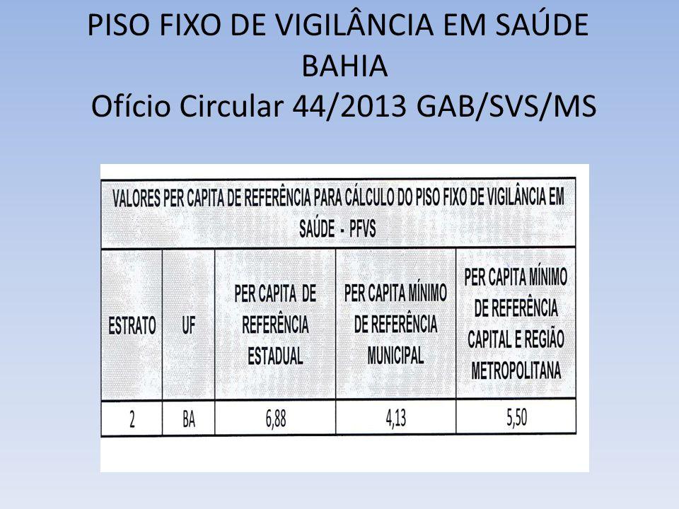 Ofício Circular 44/2013 GAB/SVS/MS