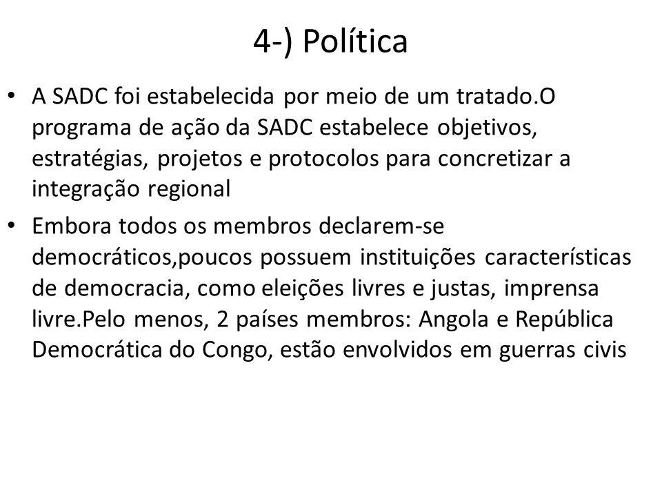 4-) Política