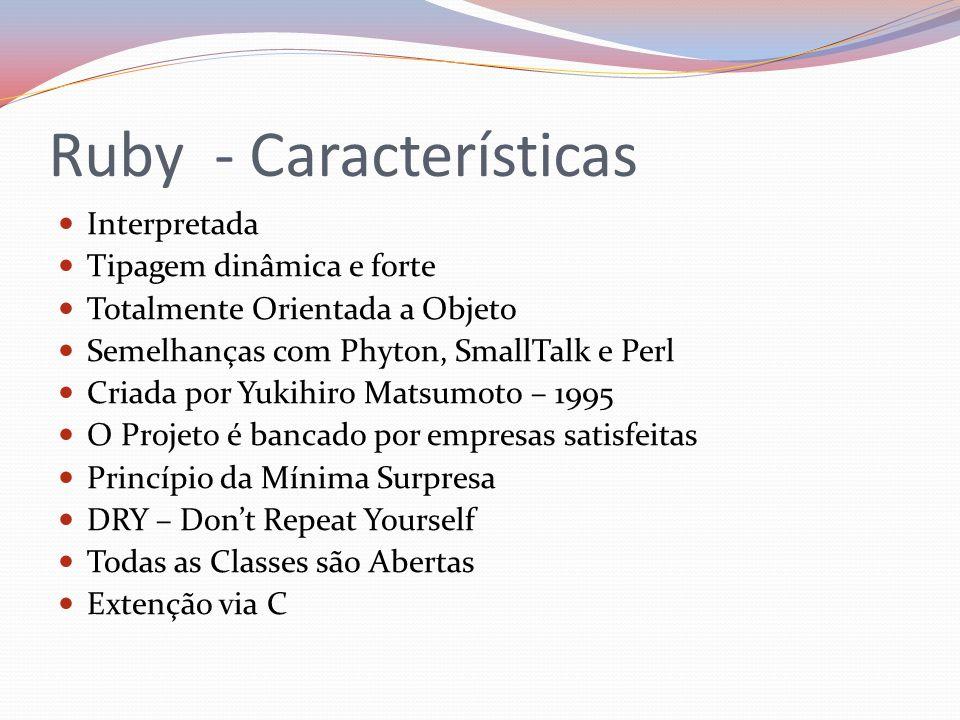 Ruby - Características