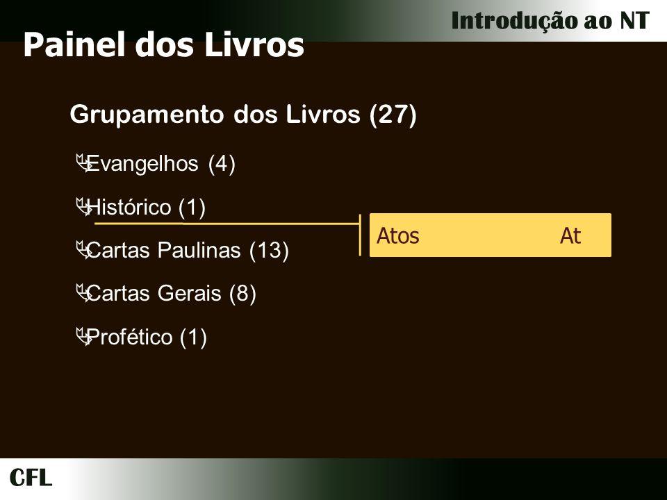 Painel dos Livros Grupamento dos Livros (27) Evangelhos (4)