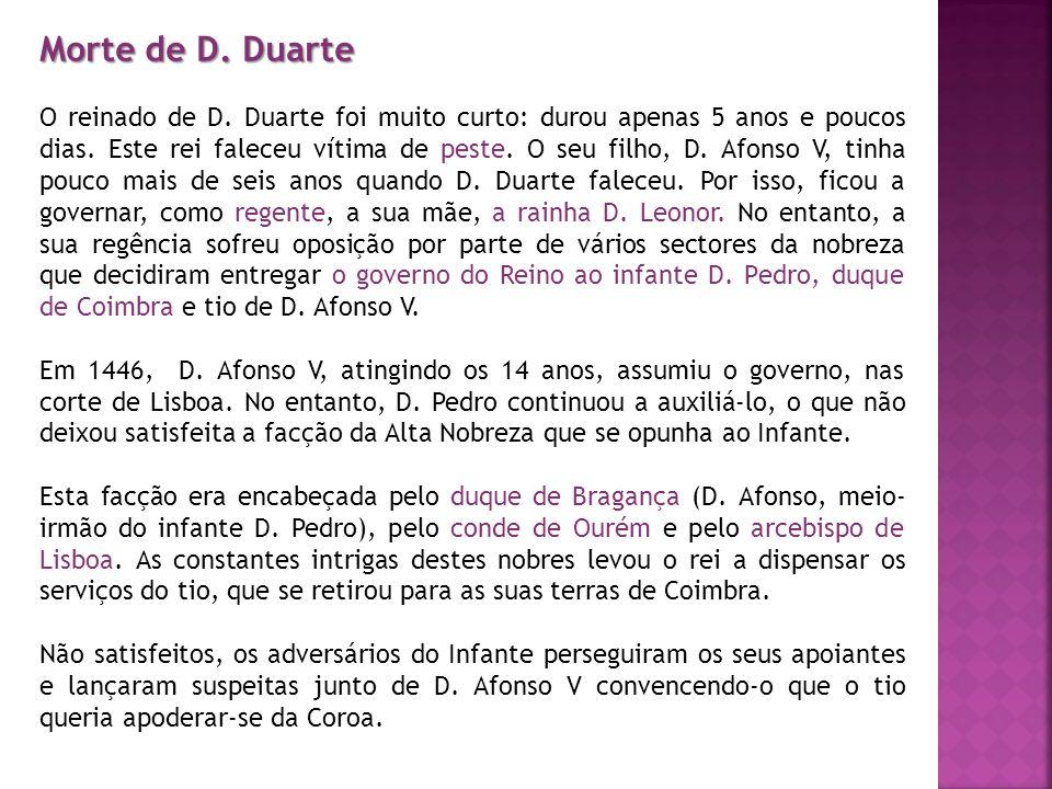 Morte de D. Duarte