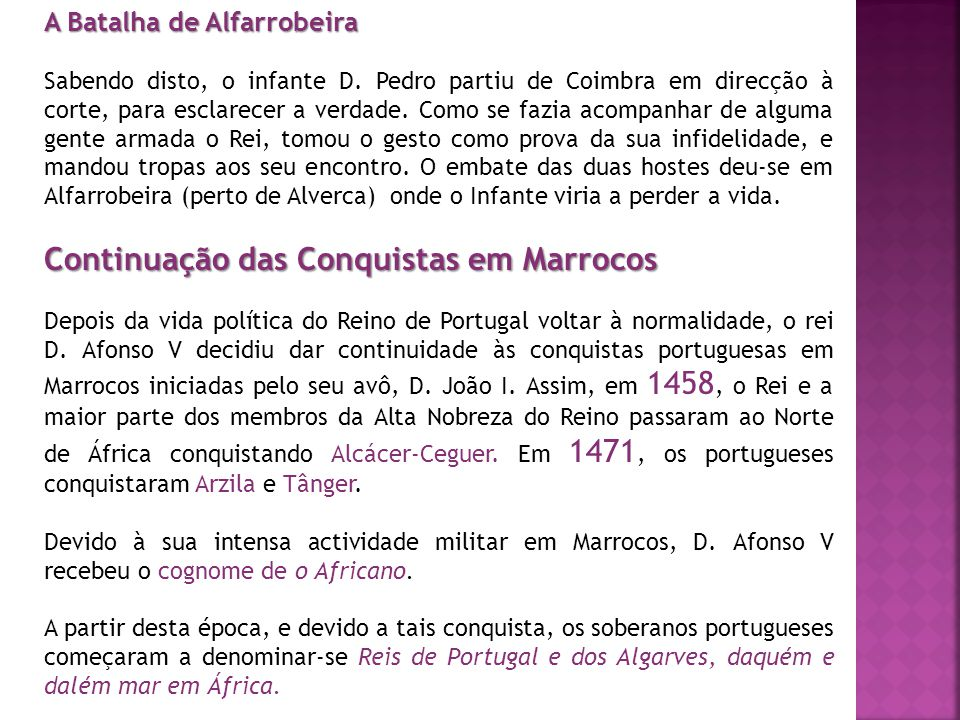 Continuação das Conquistas em Marrocos