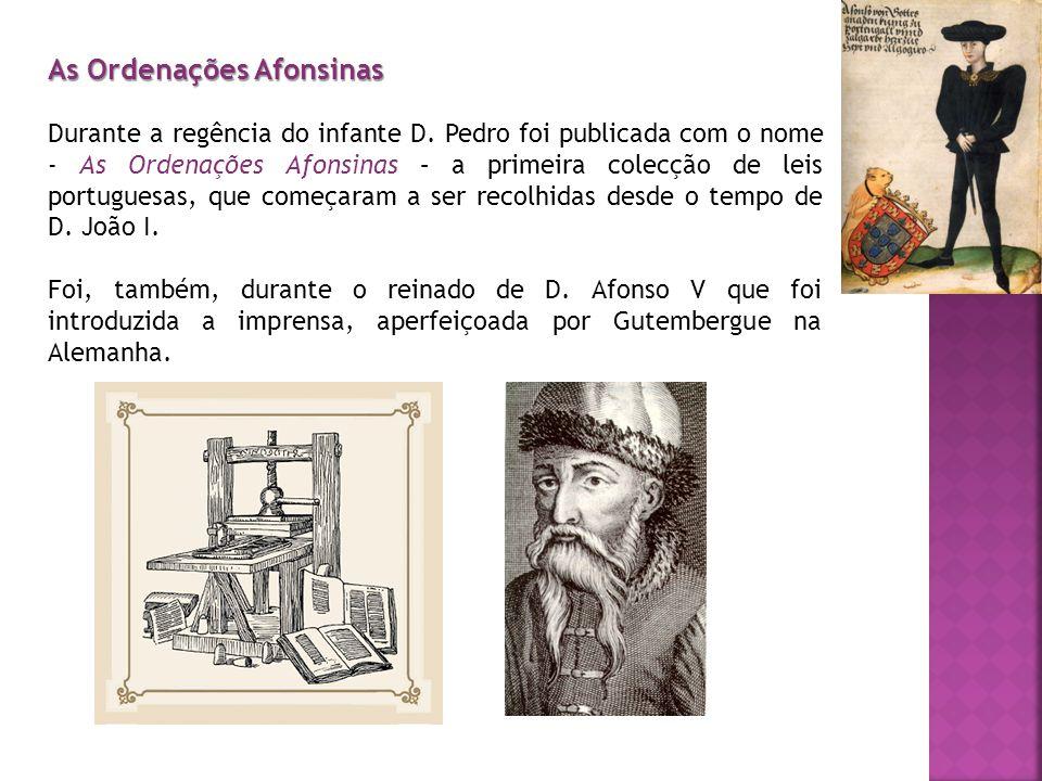 As Ordenações Afonsinas