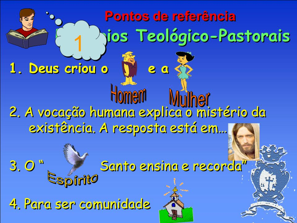 Pontos de referência Princípios Teológico-Pastorais