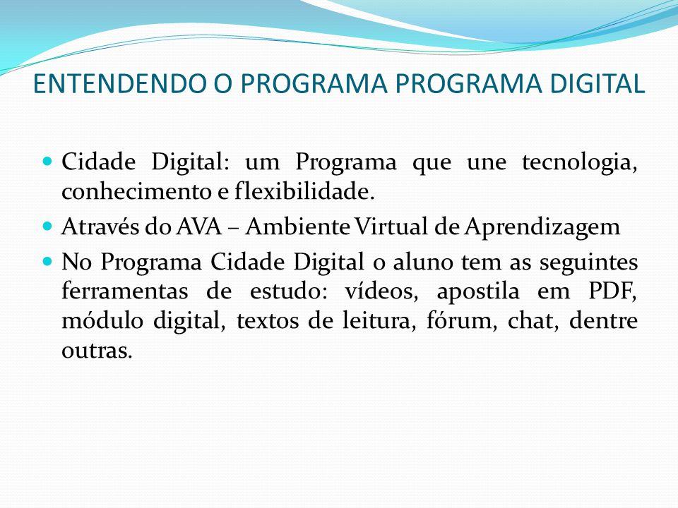 ENTENDENDO O PROGRAMA PROGRAMA DIGITAL