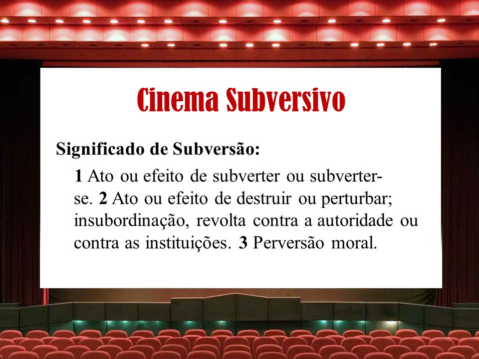 Cinema Subversivo