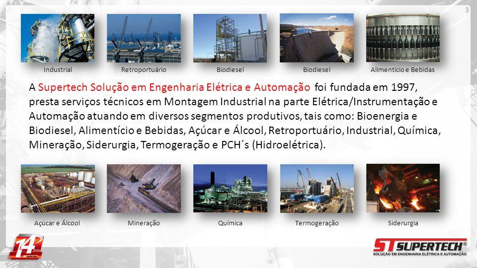 Industrial Retroportuário. Biodiesel. Biodiesel. Alimentício e Bebidas.