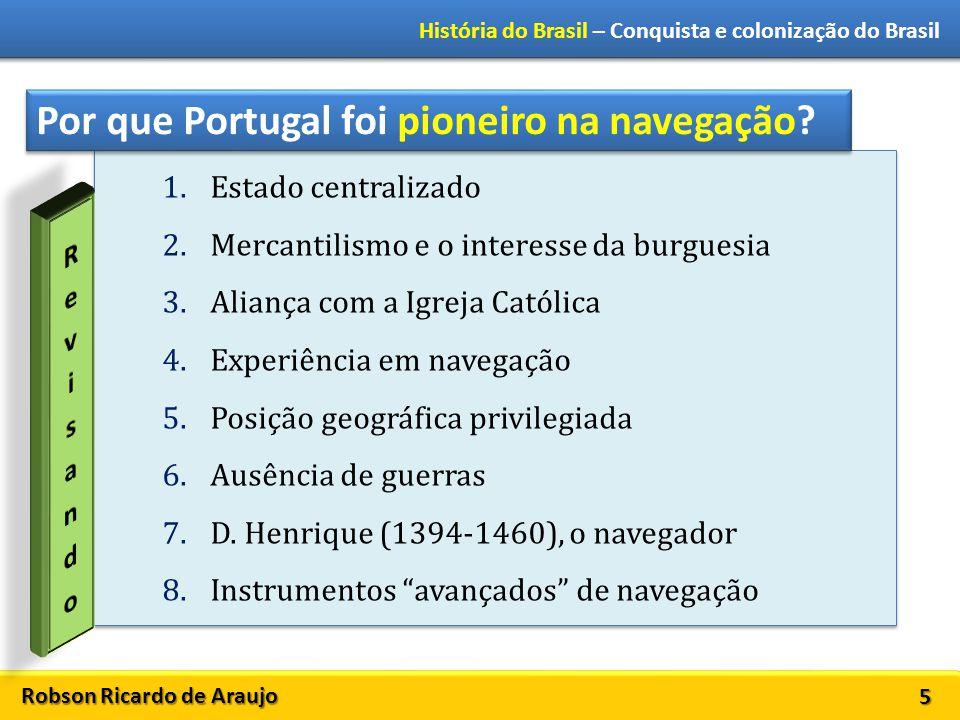 Por que Portugal foi pioneiro na navegação
